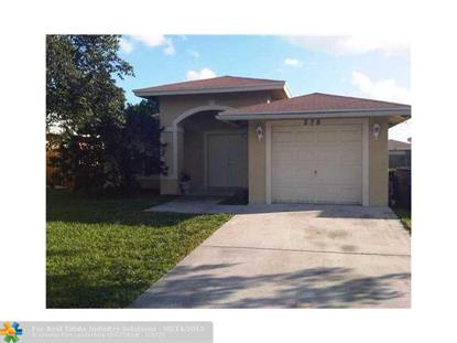 278 SW 2ND ST  Deerfield Beach, FL MLS# F1300323