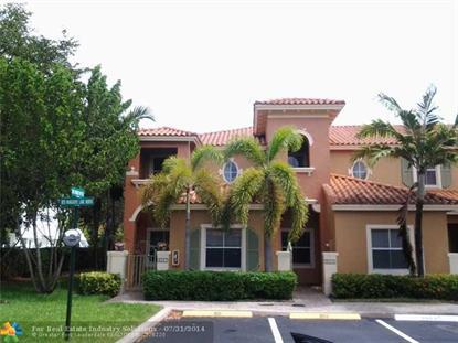 3067 RED MANGROVE LN  Dania, FL MLS# F1301279