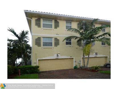 3921 Monarch Ln  Coconut Creek, FL MLS# F1302111