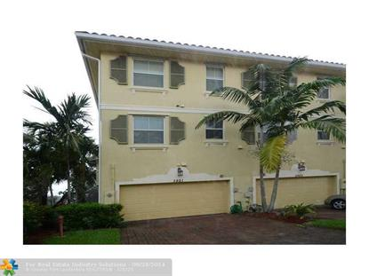 3921 Monarch Ln  Coconut Creek, FL MLS# F1305276