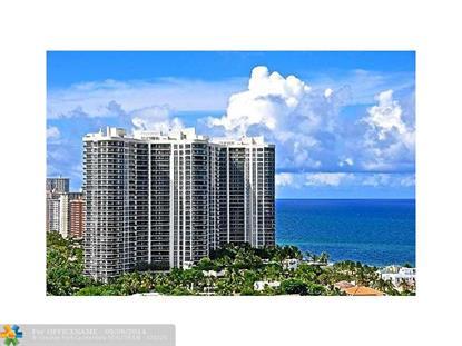 3100 N Ocean Blvd  Fort Lauderdale, FL MLS# F1306787