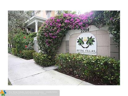 910 NE 28TH ST  Wilton Manors, FL MLS# F1308846
