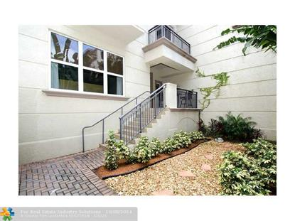 2601 NE 14th Ave  Wilton Manors, FL MLS# F1310936
