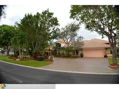 11844 WINGED FOOT TER  Coral Springs, FL MLS# F1312887