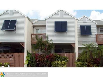 4831 S Hemingway Cir  Margate, FL MLS# F1318043