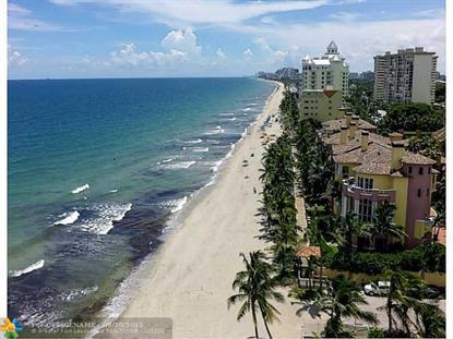 2180 N Ocean Blvd  Fort Lauderdale, FL MLS# F1320829