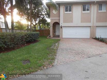 2700 Treasure Cove Cir  Dania, FL MLS# F1323369