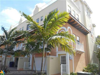 2700 NE 8th Ave  Wilton Manors, FL MLS# F1327730