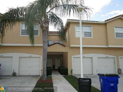 2901 Crestwood Ter  Margate, FL MLS# F1329270