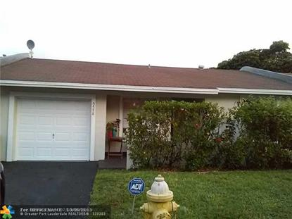 5558 Lakewood Cir  Margate, FL MLS# F1337126