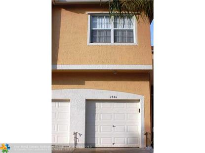2881 Crestwood Ter  Margate, FL MLS# F1337199