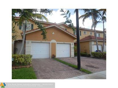 5604 MONTE CARLO LN  Margate, FL MLS# F1343953