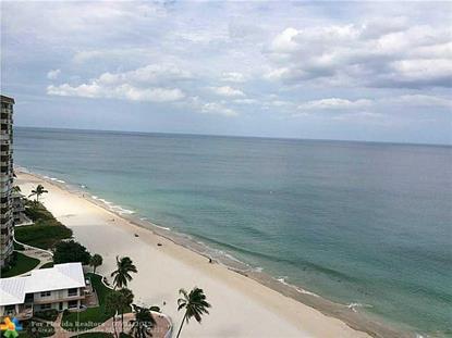 1600 S Ocean Blvd  Pompano Beach, FL MLS# F1345629