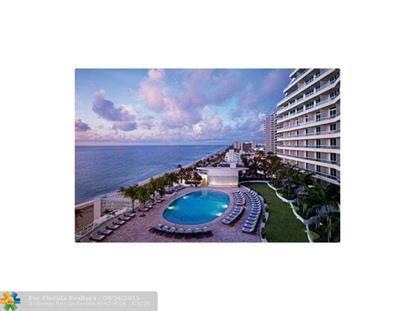 1 N Fort Lauderdale Bch  Fort Lauderdale, FL MLS# F1345694