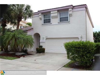 1541 NW 159TH AVE  Pembroke Pines, FL MLS# F1346582