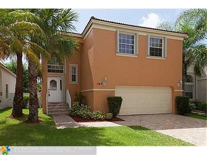 547 NW 157TH LN  Pembroke Pines, FL MLS# F1347635