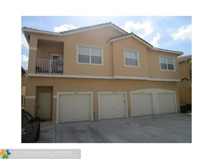 2906 Crestwood Ter  Margate, FL MLS# F1352397
