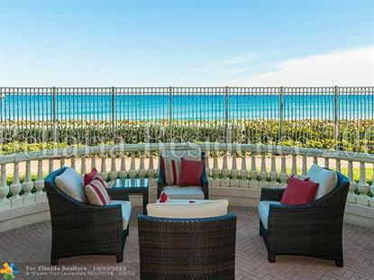 3000 S OCEAN BL  Palm Beach, FL MLS# F1364516