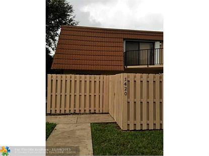 1420 SW 110th Way  Davie, FL MLS# F1367428