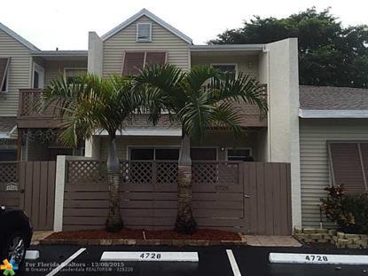 4728 S Hemingway Cir  Margate, FL MLS# F1369939