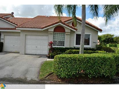 7462 S Pinewalk Dr S  Margate, FL MLS# F1377871