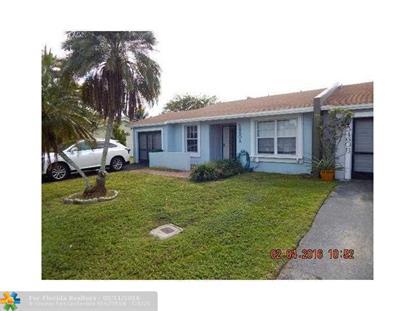 5460 LAKEWOOD CR  Margate, FL MLS# F1379160