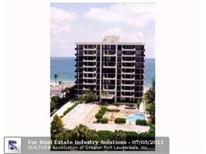 1300 S OCEAN BL  Pompano Beach, FL MLS# F1141923