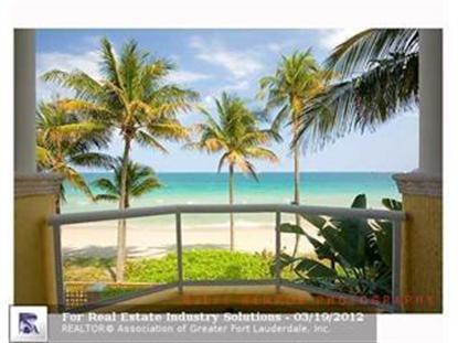 2160 N OCEAN BL  Fort Lauderdale, FL MLS# F1179109