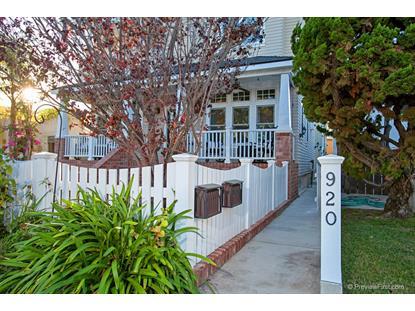 920 D Avenue Coronado, CA MLS# 150060917