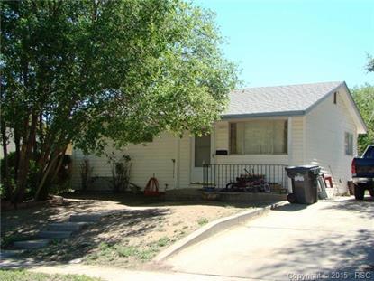 1421 McArthur Avenue Colorado Springs, CO 80909 MLS# 1639379