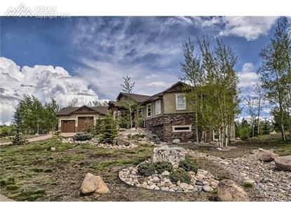605 Pembrook Drive Woodland Park, CO MLS# 1649010