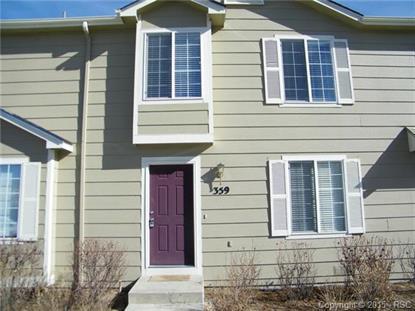 359 Ellers Grove Colorado Springs, CO MLS# 1825115