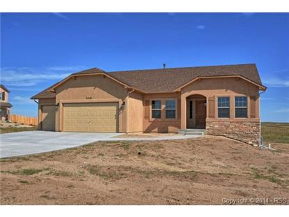 9581 Pomeroy Court Peyton, CO MLS# 4364489