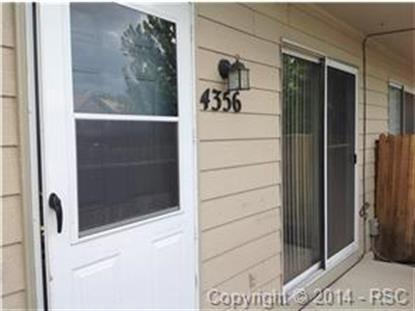 4356 Hawks Lookout Lane Colorado Springs, CO 80911 MLS# 4694265