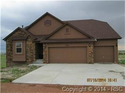 11807 White Antler Trail Peyton, CO MLS# 7824715