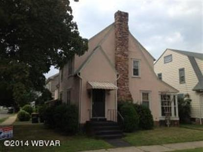 222 W CENTRAL AVE South Williamsport, PA MLS# WB-71819