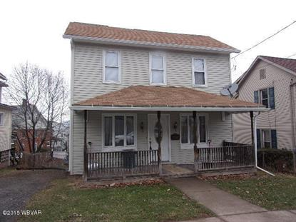 1598 W SOUTHERN AVE South Williamsport, PA MLS# WB-73690