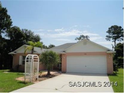 753 Palm Hammock Circle  Saint Augustine, FL MLS# 150647