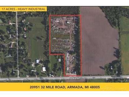 20951 32 Mile  Armada, MI MLS# 44363207