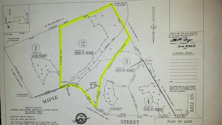 889 Maple St Lot 2, Mansfield, MA 02048