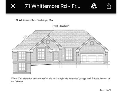 71 Whittemore Rd  Sturbridge, MA MLS# 72225590