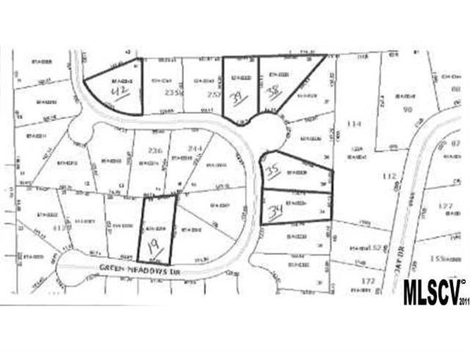 Lot 19 GREEN MEADOWS Drive, Taylorsville, NC 28681