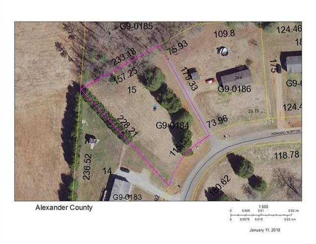 Lot 15 HOWARD NORTON Drive, Hiddenite, NC 28636