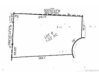 Lot 6 Kirkman Court Troutman, NC MLS# 3199316