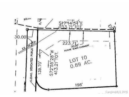 Lot 10 Julian Place Troutman, NC MLS# 3199348