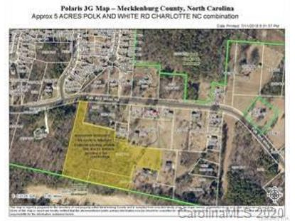 Approx 5 Acres off Polk and White Road Charlotte, NC MLS# 3667890