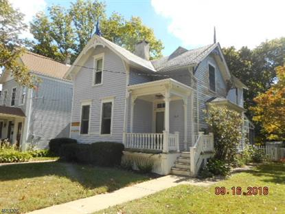 505 W Plane St  Hackettstown, NJ MLS# 3337515