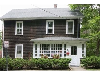 89 Chestnut St  Morristown, NJ MLS# 3395413