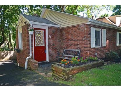 72 MAPLE ST  Watchung, NJ MLS# 3480425