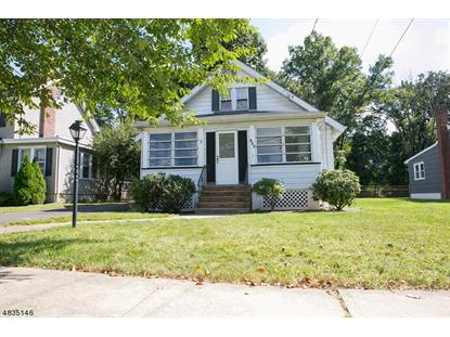 833 W NORTH AVE  Westfield, NJ MLS# 3499366